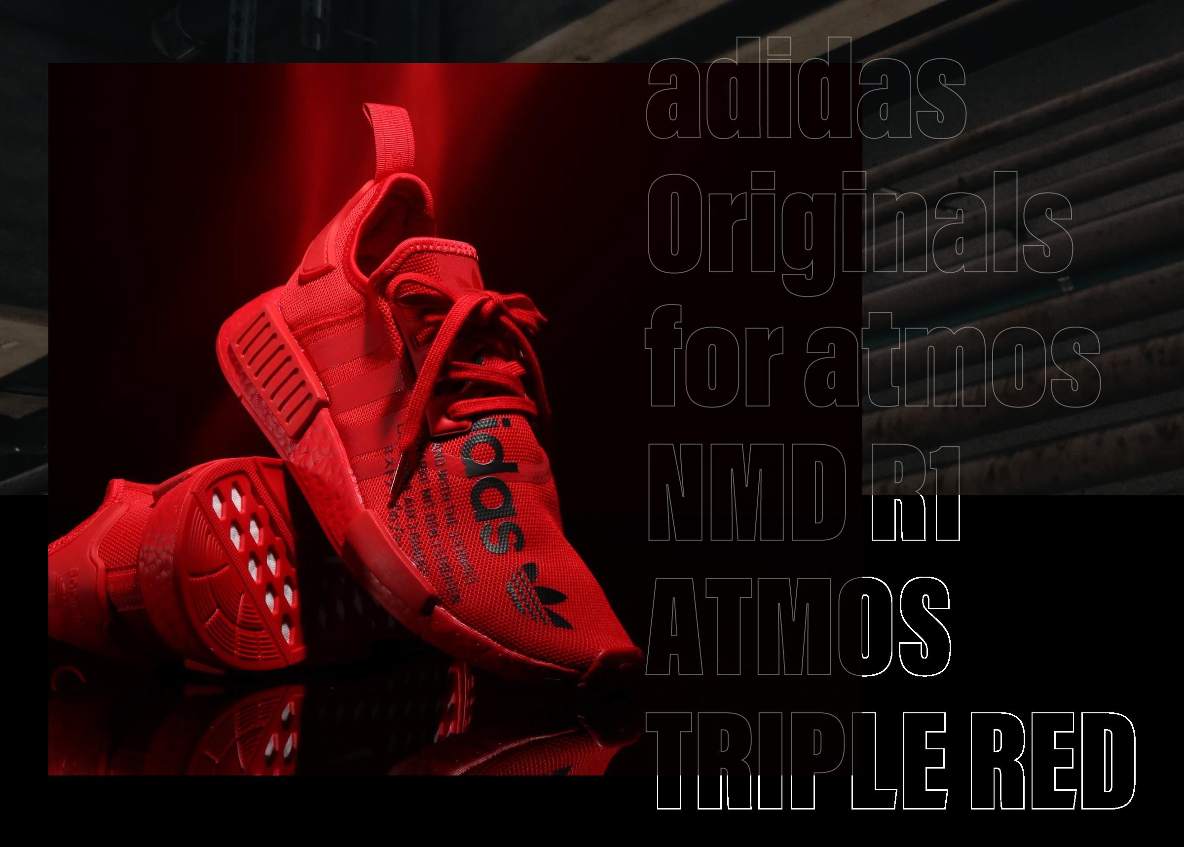adidas Originals for atmos NMD R1 ATMOS