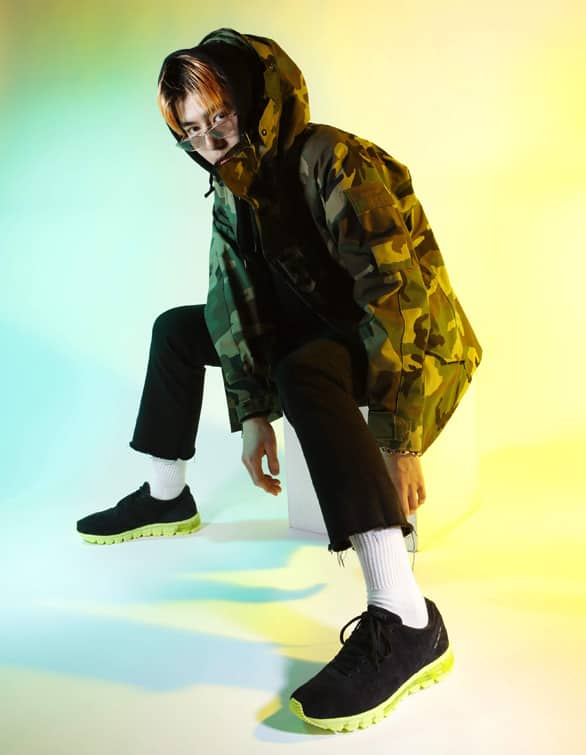 asics-gel-inst-neon-pack スタイリング