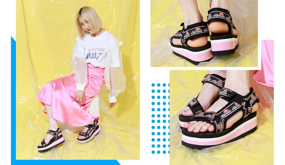 atmos pink 19SS sandal collection