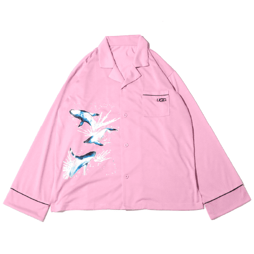 atmos pink 伊東楓×UGG ROOMEWAR
