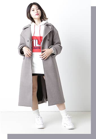 atmos pink Outer Collection vol.2 スタイリング05