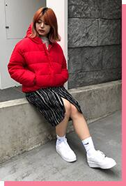 atmos pink Outer Collection vol.2 スタイリング03