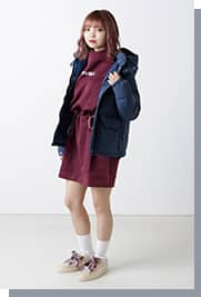 atmos pink Outer Collection vol.2 スタイリング06