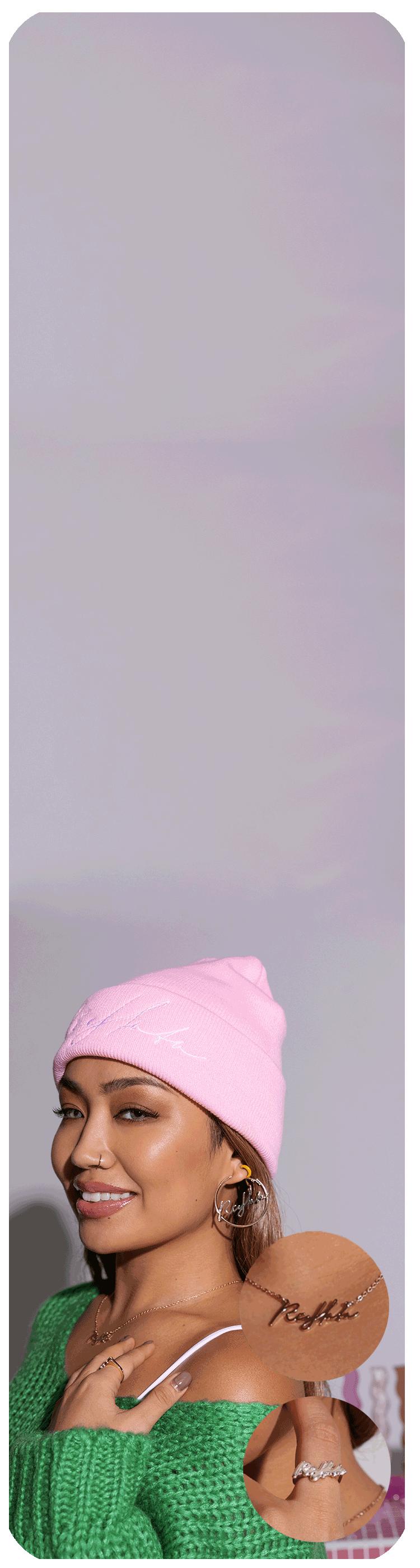 atmos pink × RIEHATA COLLABORATION