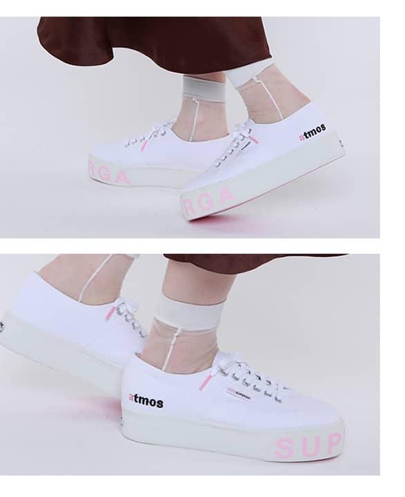 SUPERGA × atmos pink