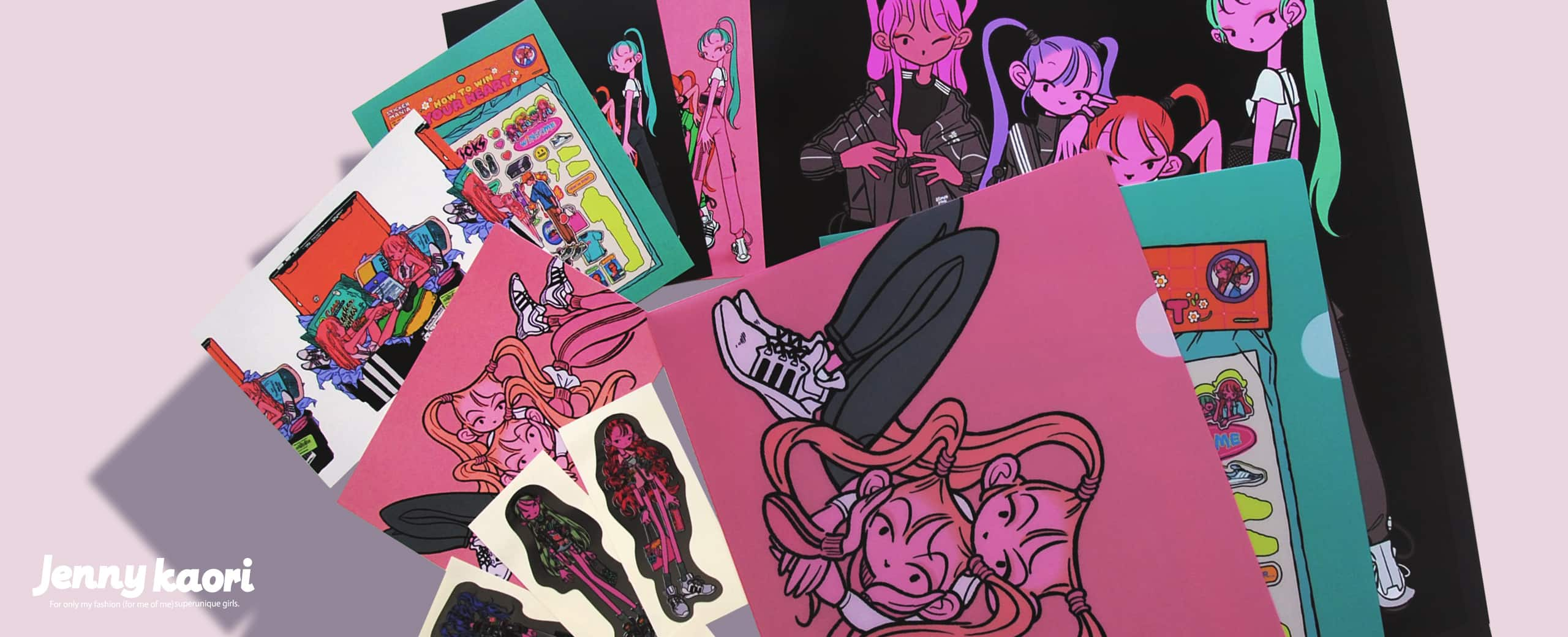 JENNY KAORI × atmos pink