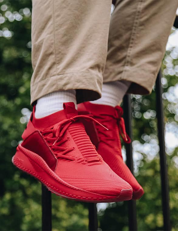 PUMA TSUGI JUN ATMOS RED HORSEMAN スタイリング001