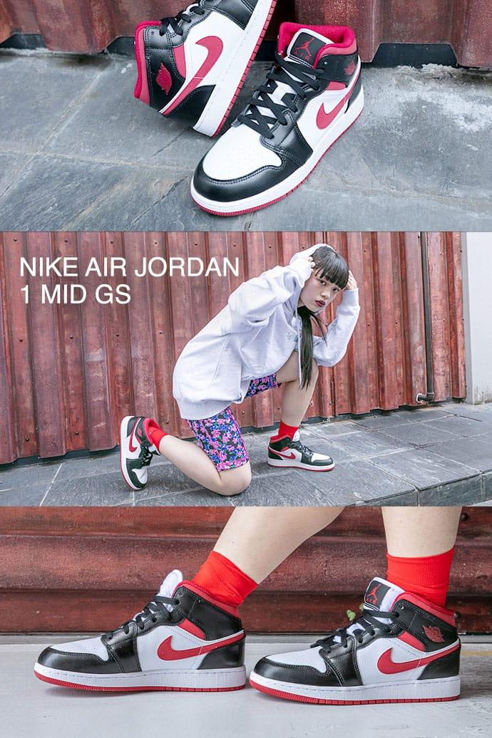"""AIR JORDAN 1 MID  """"METALLIC RED"""""""