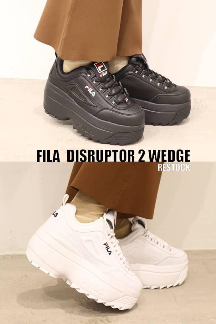 FILA DISRUPTOR 2 WEDGE WOMENS