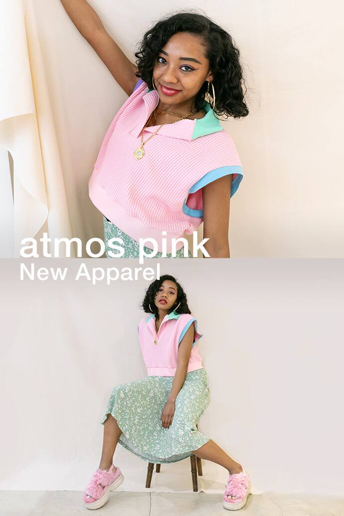 atmos pink NEW APPAREL