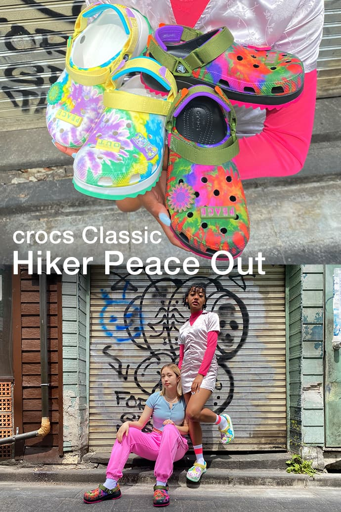 crocs Classic Hiker Peace Out