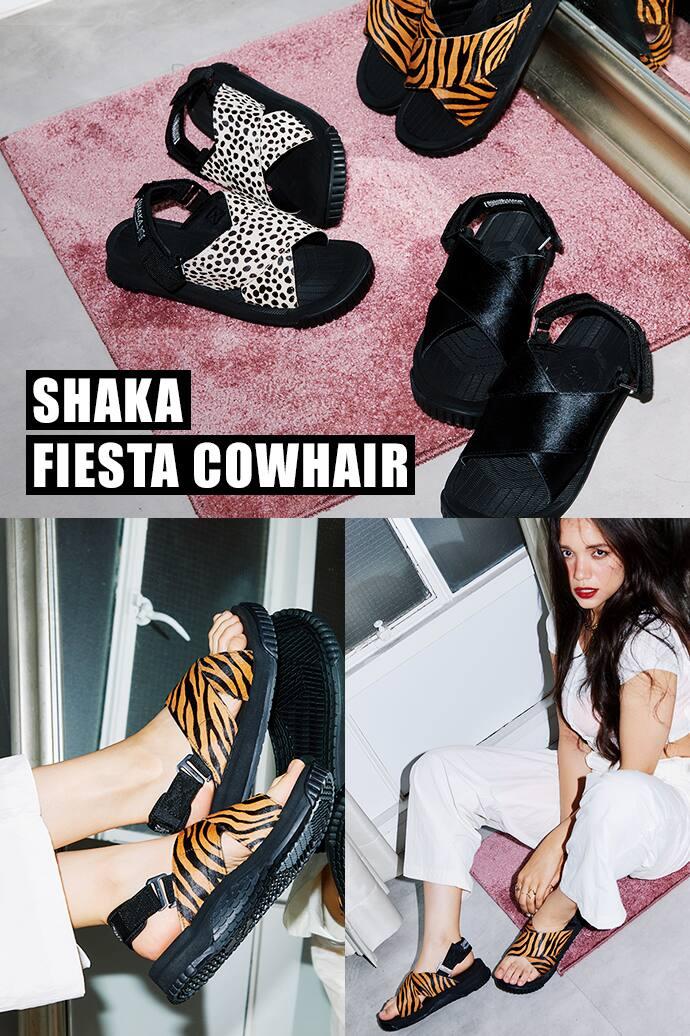 SHAKA FIESTA COWHAIR