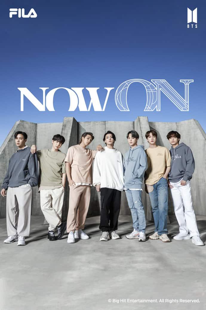 FILA x BTS コラボコレクション「Now ON」