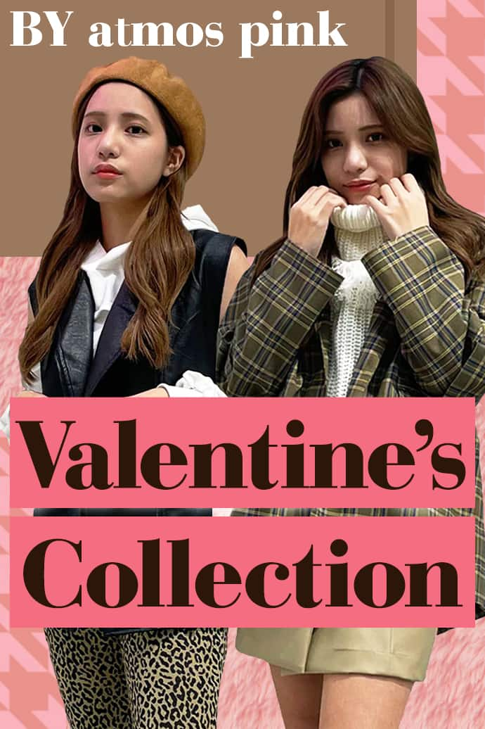 Valentine Collection BY atmos pink