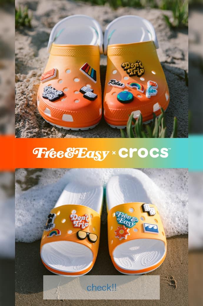 Free and Easy X Crocs