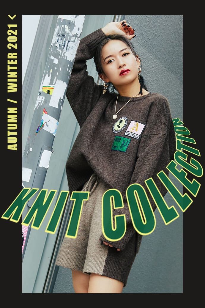 KNIT COLLECTION Part2 by atmos pink
