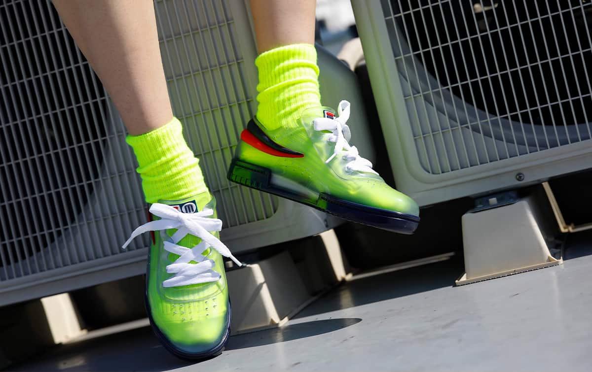 Melissa Sneaker + Fila Ad