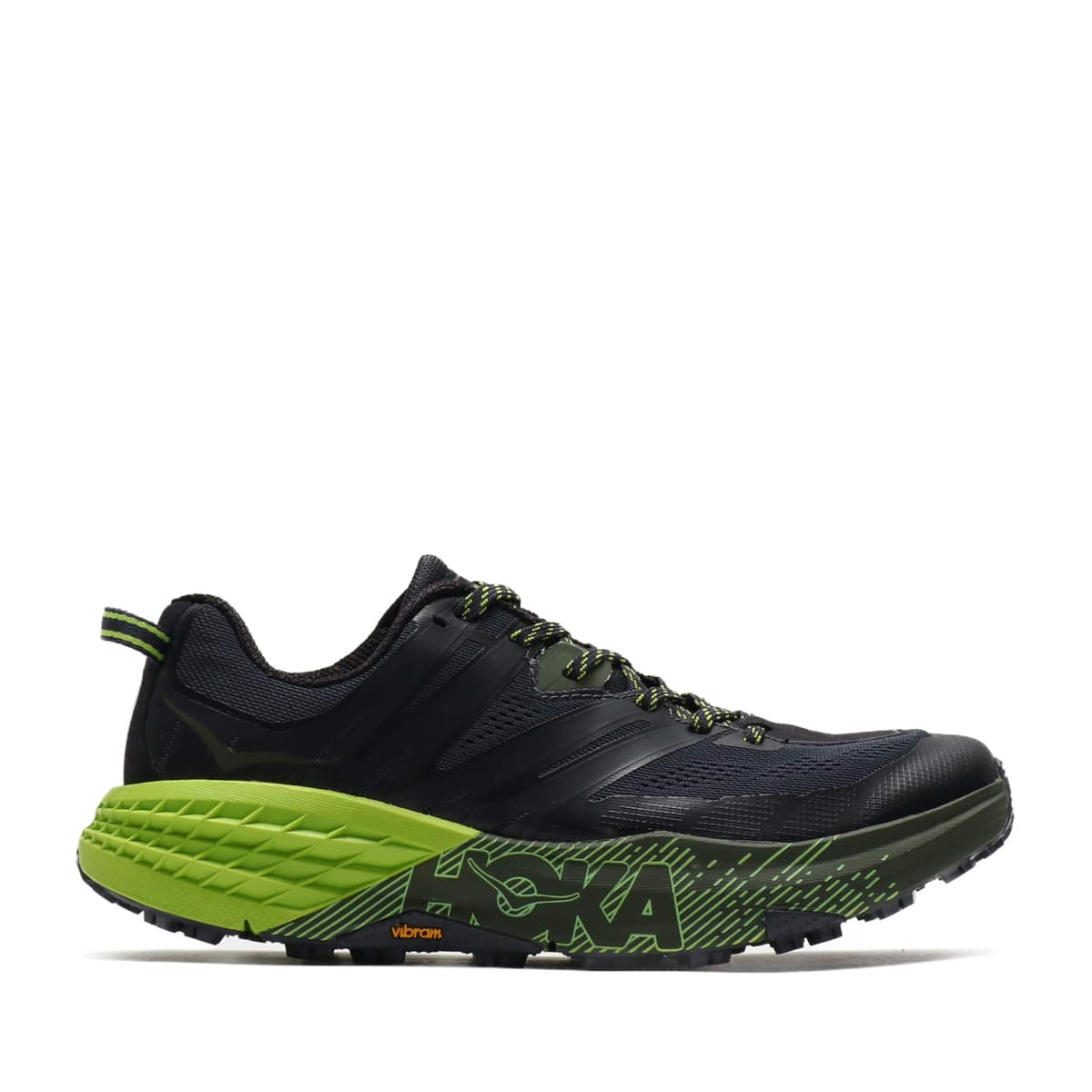 """HOKA ONEONE SPEEDGOAT 3 BLACK/YEL 19FA-I""_photo_2"