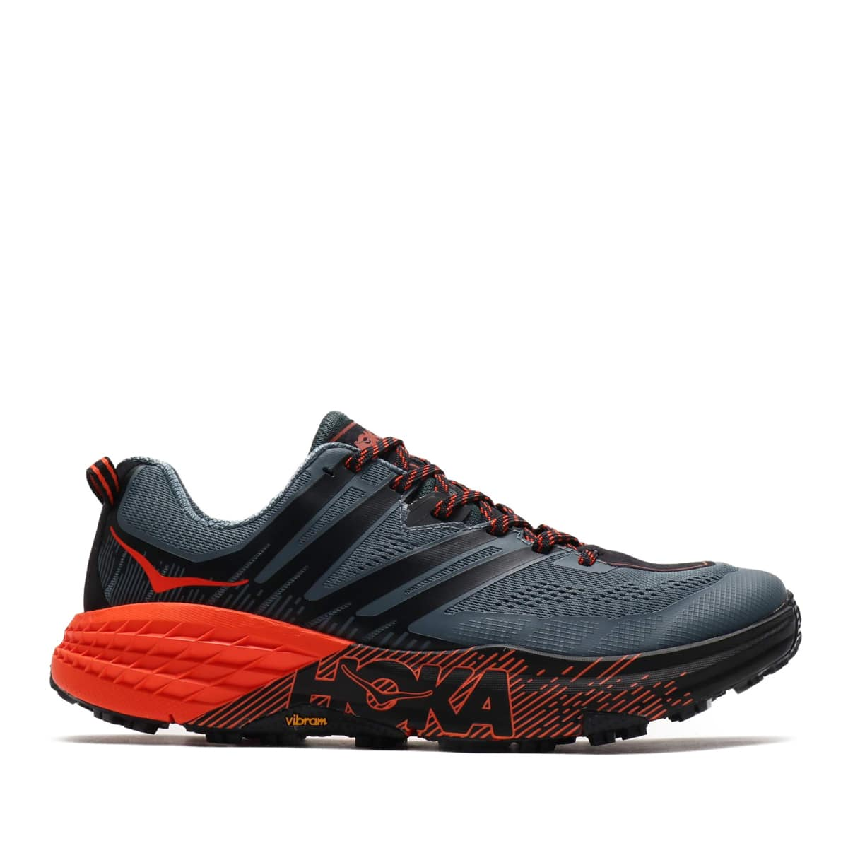 """HOKA ONEONE SPEEDGOAT 3 GRAY/OR 19FA-I""_photo_2"