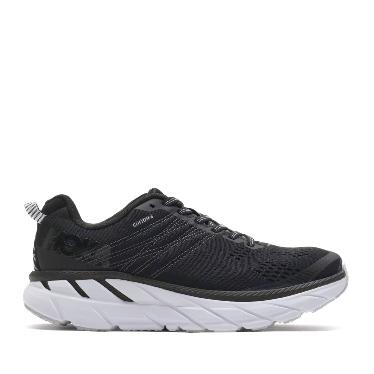 """HOKA ONEONE CLIFTON 6 BLACK/WHT 19FA-I""_photo_2"