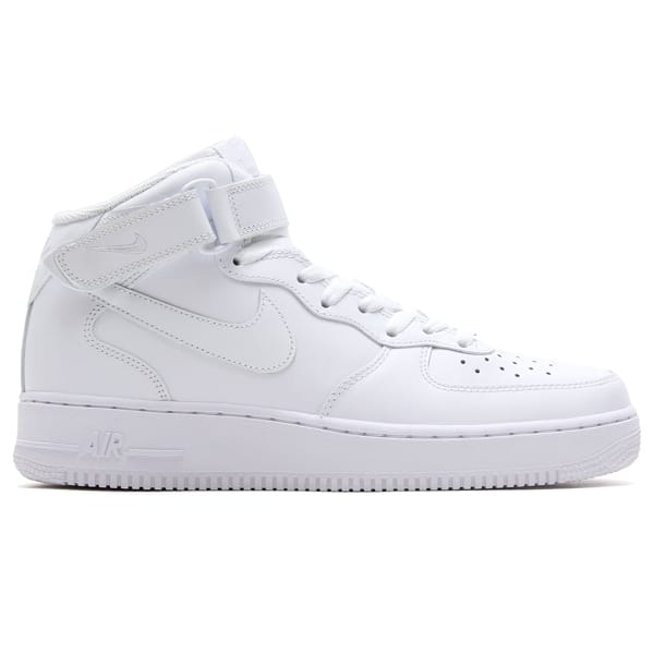 """NIKE AIR FORCE 1 MID '07 WHITE/WHITE 18FW-I""_photo_2"