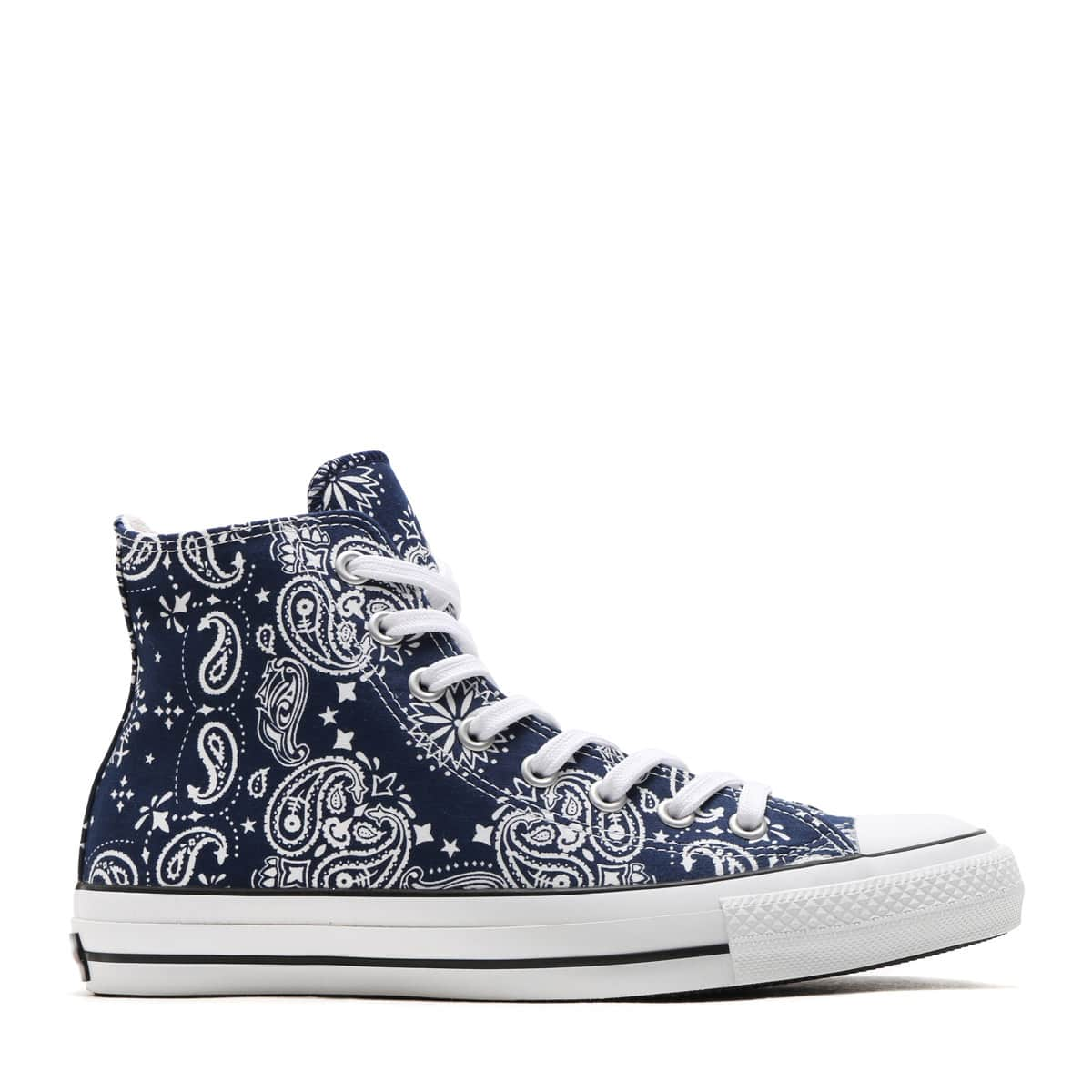 89fbac6c162d11 CONVERSE ALL STAR 100 BANDANA HI NAVY
