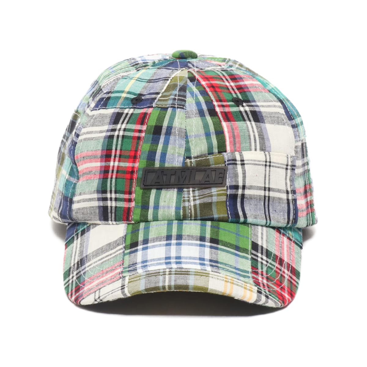"""ATMOS LAB PATCHWORK 6 PANEL CAP GREEN 19SP-I""_photo_2"