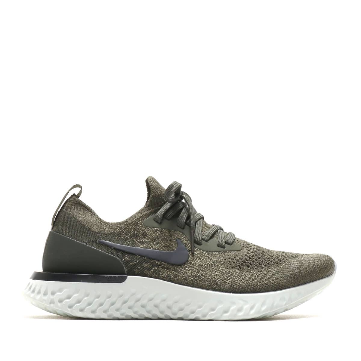 840533b316de NIKE WMNS EPIC REACT FLYKNIT CARGO KHAKI BLACK-SEQUOIA-LIGHT SILVER