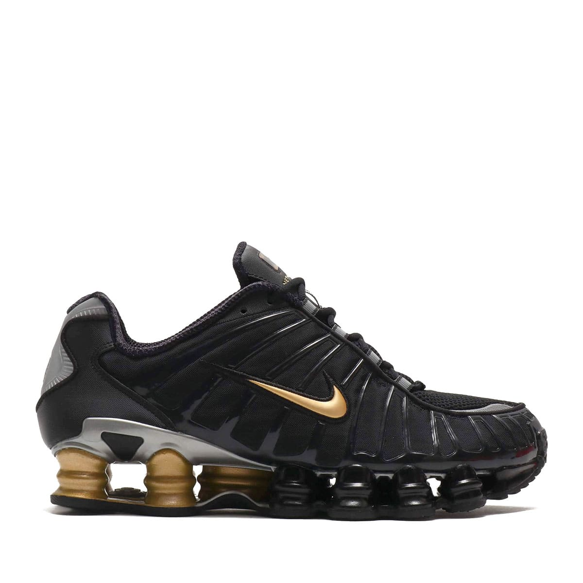 """NIKE SHOX TL / NEYMAR JR. BLACK/METALLIC SILVER-METALLIC GOLD 19FA-S""_photo_2"