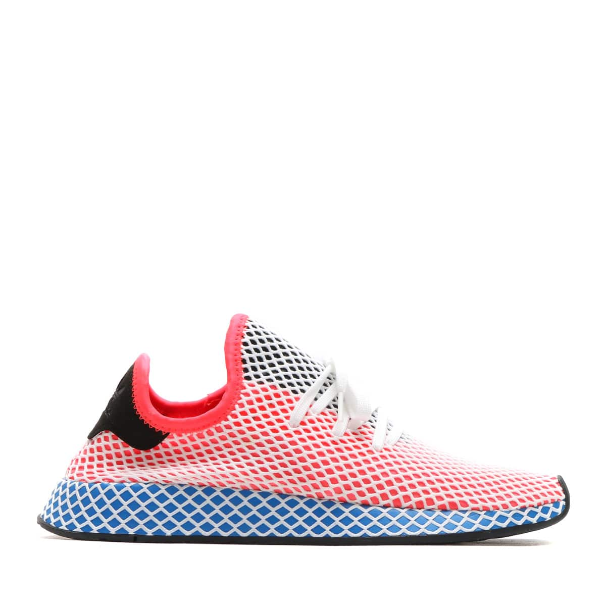 270ea704a0aaf Herrenschuhe Adidas Mens Originals Deerupt Runner Solar Red Blue Bird CQ2624
