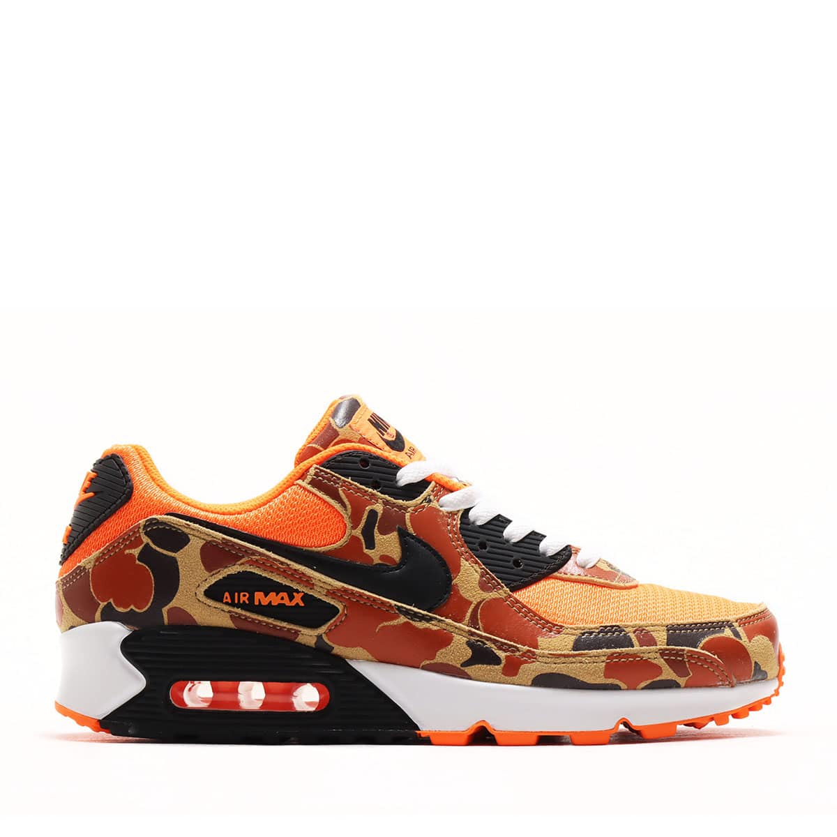 "NIKE AIR MAX 90 DUCK CAMO ""TOTAL ORANGE"""