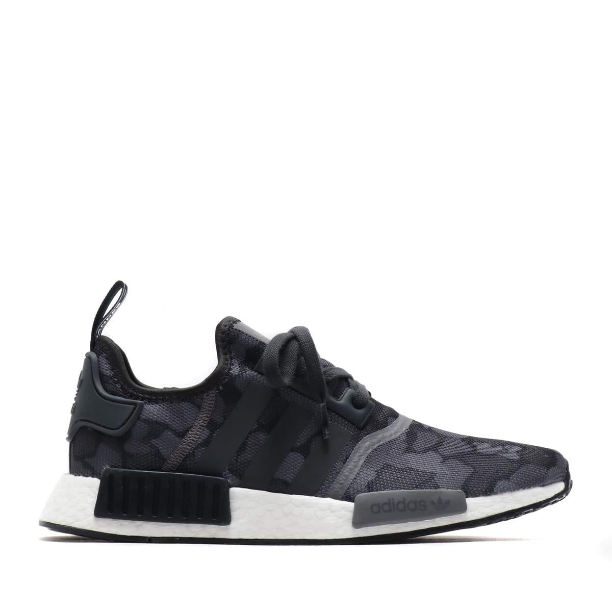 d6a4cb375 adidas Originals NMD R1 CORE BLACK GREY GREY 18FW-I
