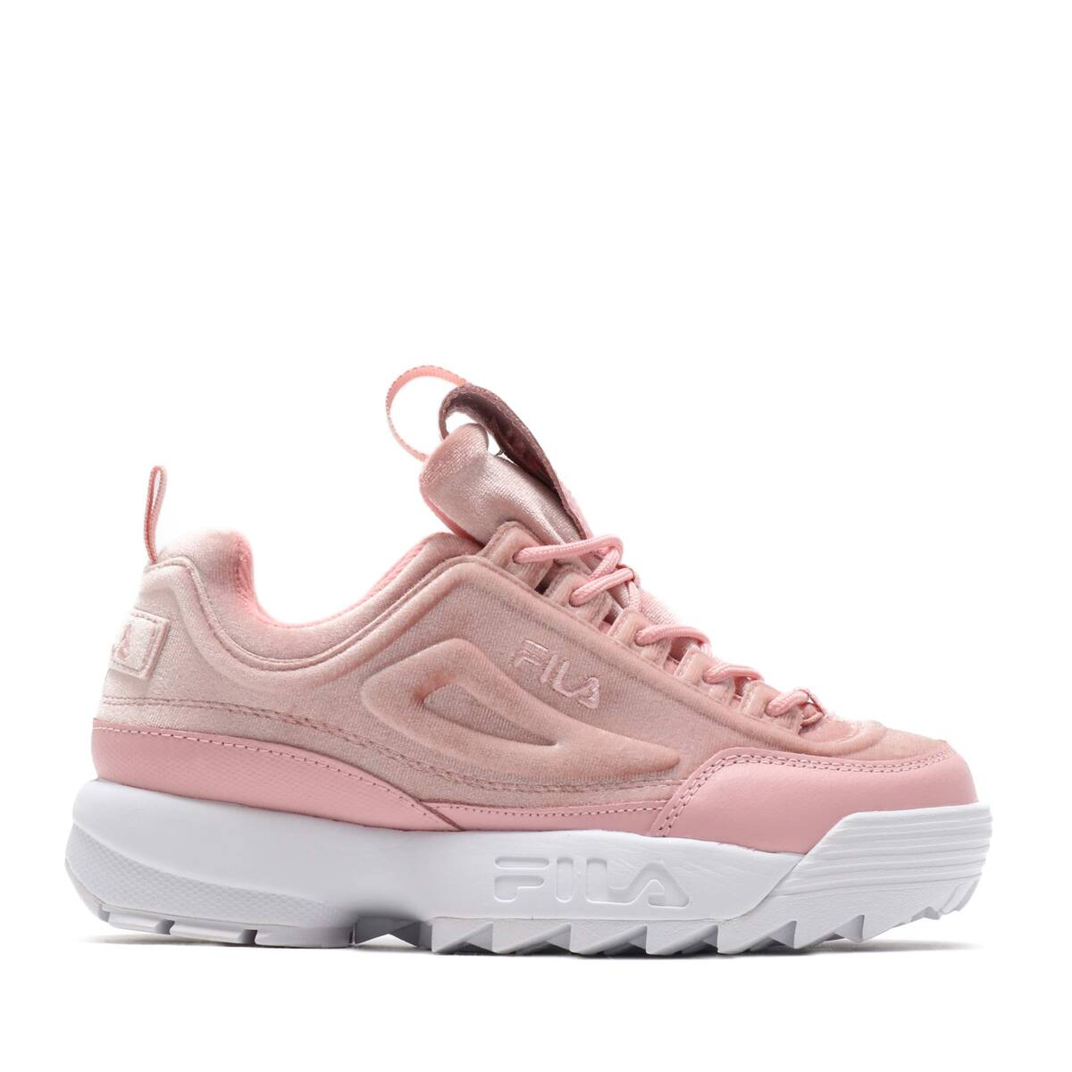 """FILA DISRUPTOR 2 Premium Velour Womens  PKS/PKS/WH""_photo_2"