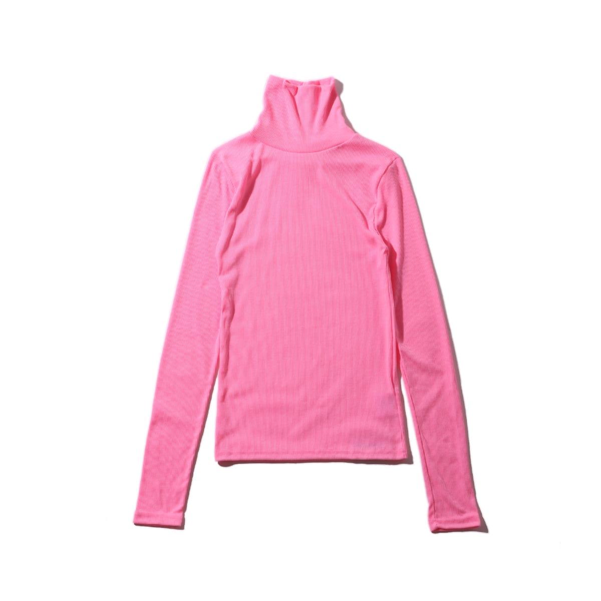 """atmos pink カラフル タートルネック PINK 19SP-I""_photo_2"