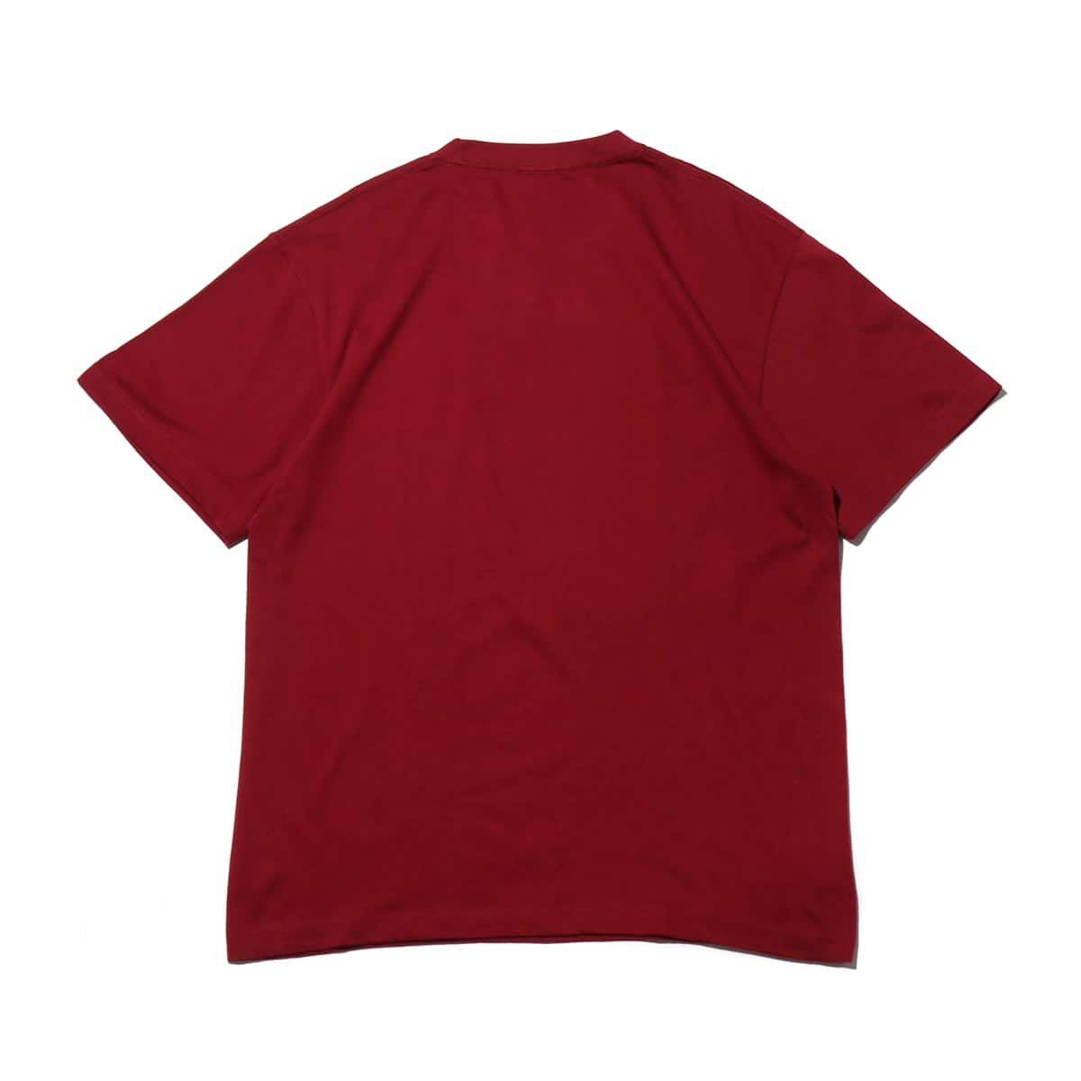 """THRASHER MAG LOGO S/S TEE BURGUNDY/WHITE 19SS-I""_photo_2"