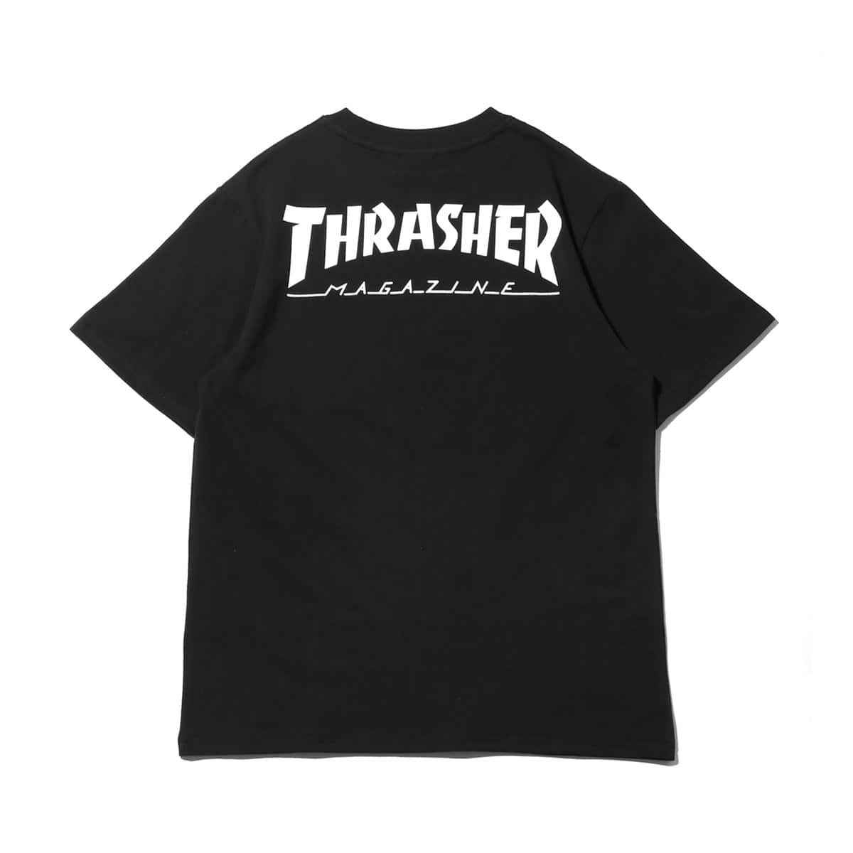 """THRASHER HOMETOWN POCKET S/S TEE BLACK/WHITE 19SS-I""_photo_2"