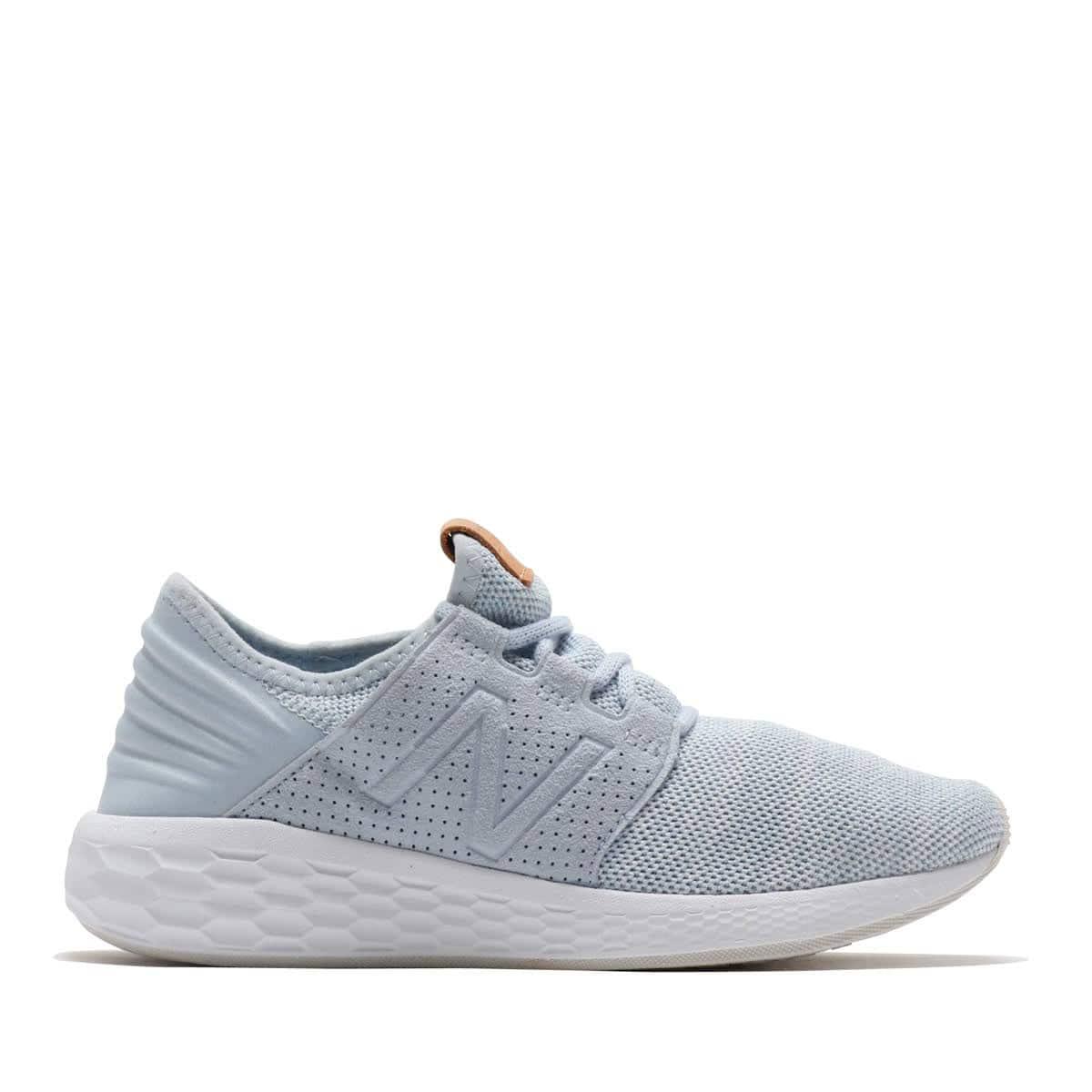New Balance Women Fresh Foam Cruz V2 Knit WCRUZKI2 Sneakers Ice Blue//White