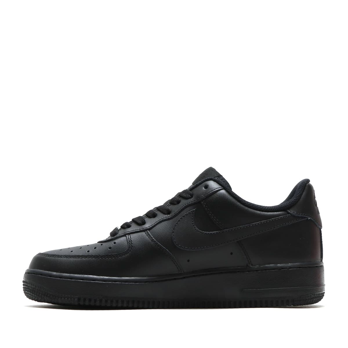 """NIKE AIR FORCE 1 '07 BLACK/BLACK 18FW-I""_photo_3"