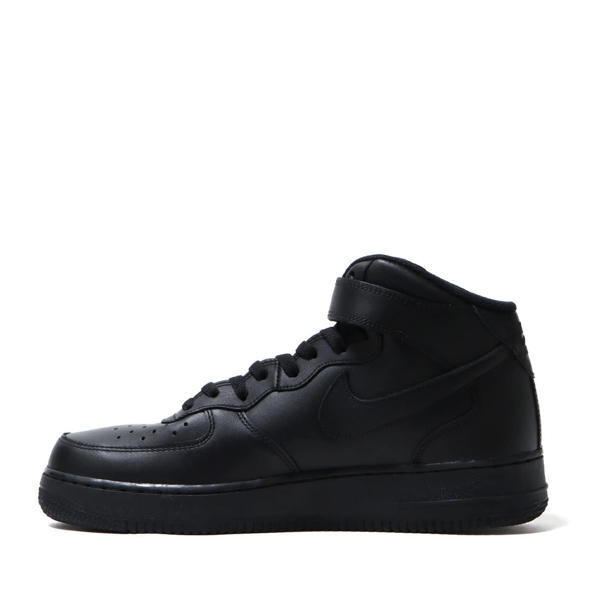 """NIKE AIR FORCE 1 MID '07 BLACK/BLACK 18FW-I""_photo_3"