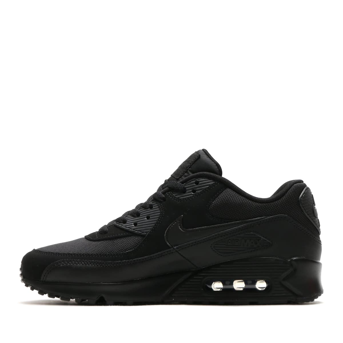 """NIKE AIR MAX 90 ESSENTIAL  BLACK/BLACK-BLACK-BLACK-BLACK-BLACK 18FW-I""_photo_3"