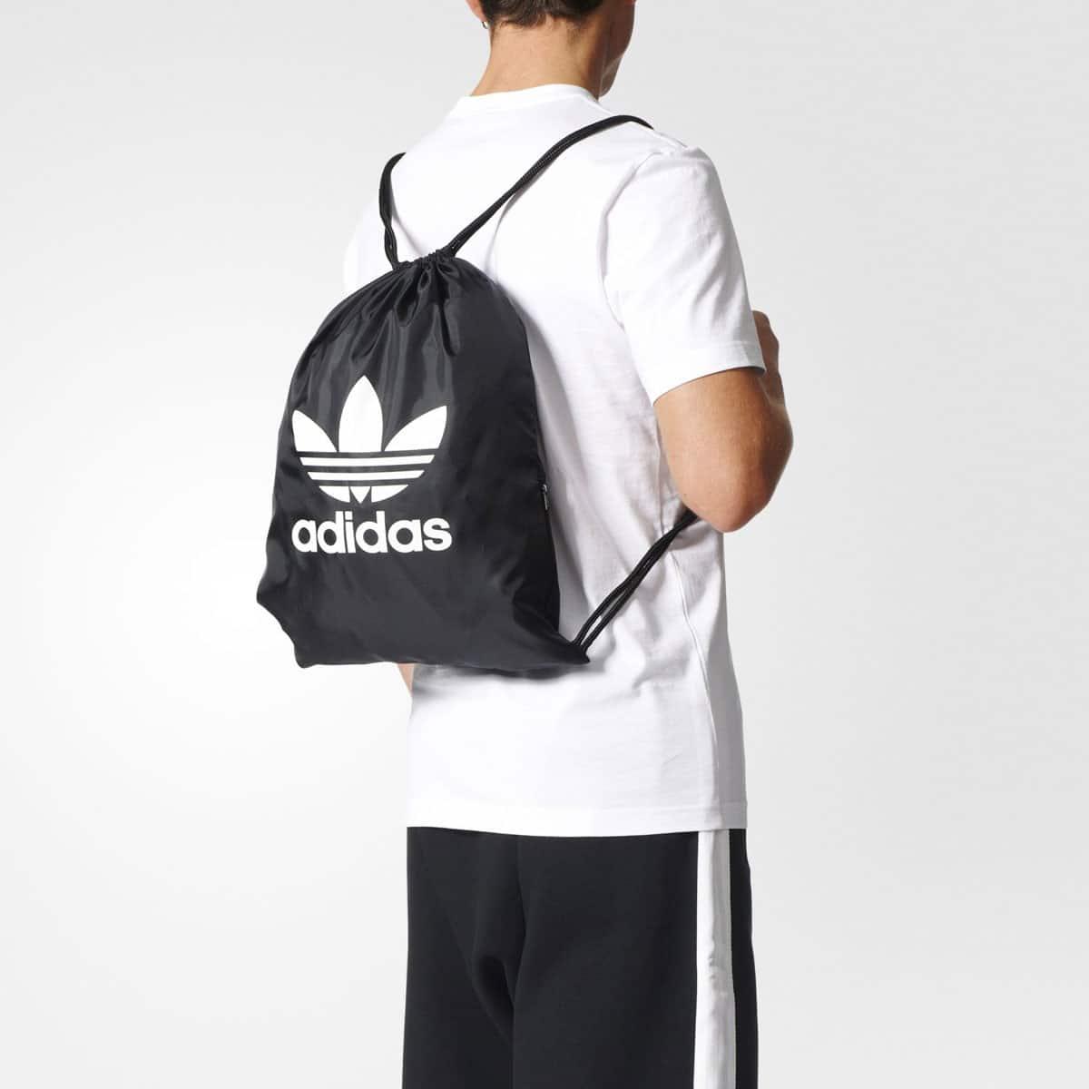 """adidas Originals GYMSACK TREFOIL  BLACK""_photo_3"