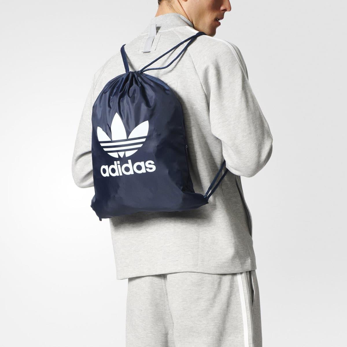 """adidas Originals GYMSACK TREFOIL  COLLEGE NAVY""_photo_3"
