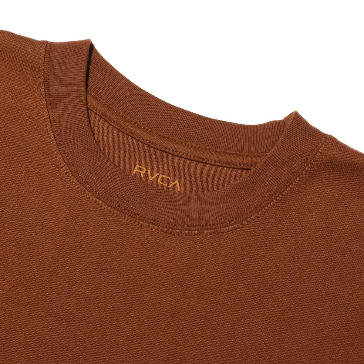 """""""RVCA ARCH RVCA TAPE S/S DARK BROWN 19FA-I""""_photo_3"""