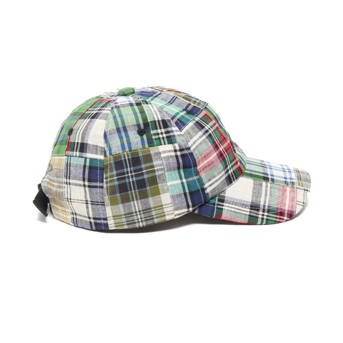 """ATMOS LAB PATCHWORK 6 PANEL CAP GREEN 19SP-I""_photo_3"