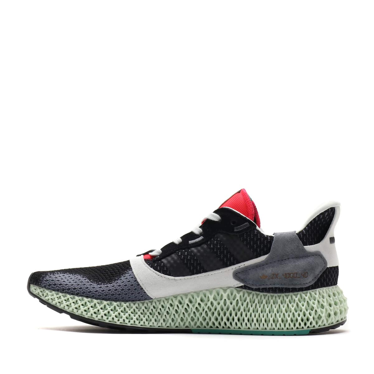 """adidas ZX 4000 4D Core Black/Onix/Running White 19SS-S""_photo_3"
