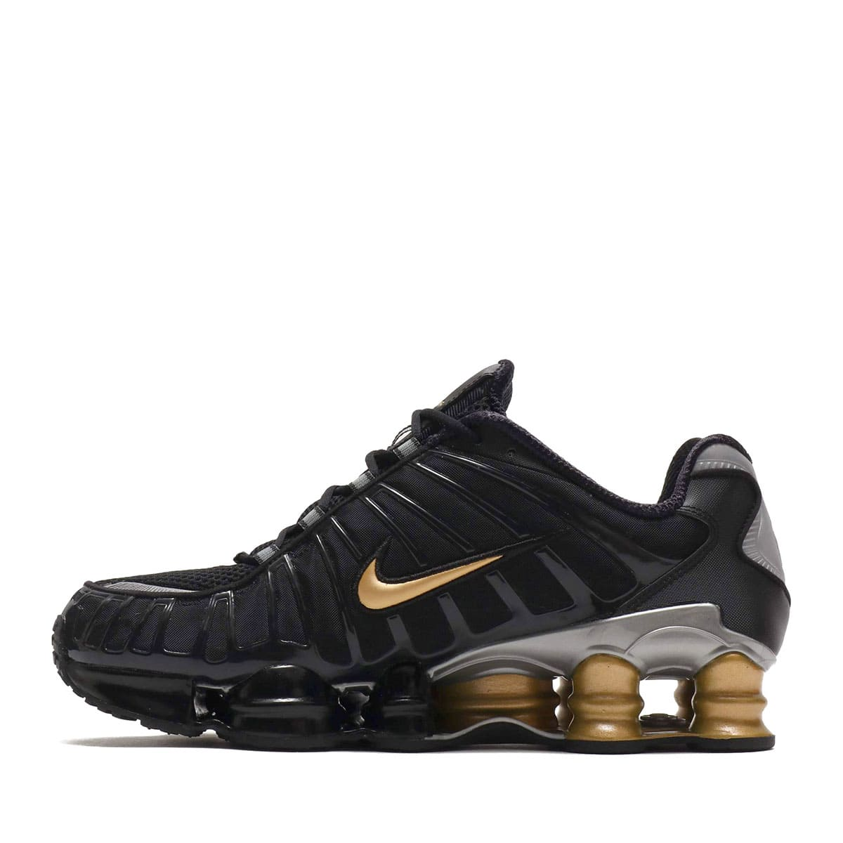 """NIKE SHOX TL / NEYMAR JR. BLACK/METALLIC SILVER-METALLIC GOLD 19FA-S""_photo_3"