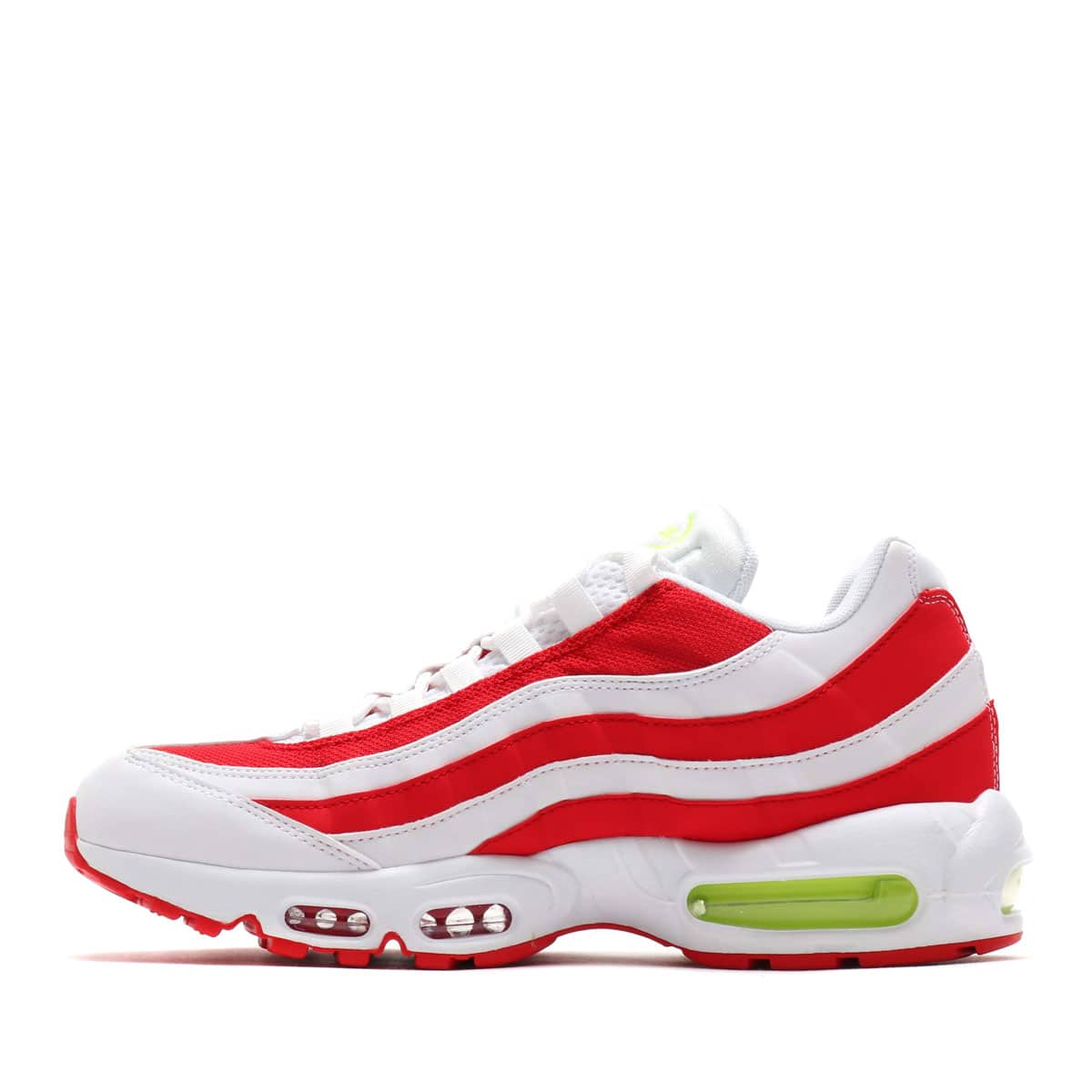 """NIKE AIR MAX 95 WHITE/VOLT-WHITE-UNIVERSITY RED 19FA-S""_photo_3"