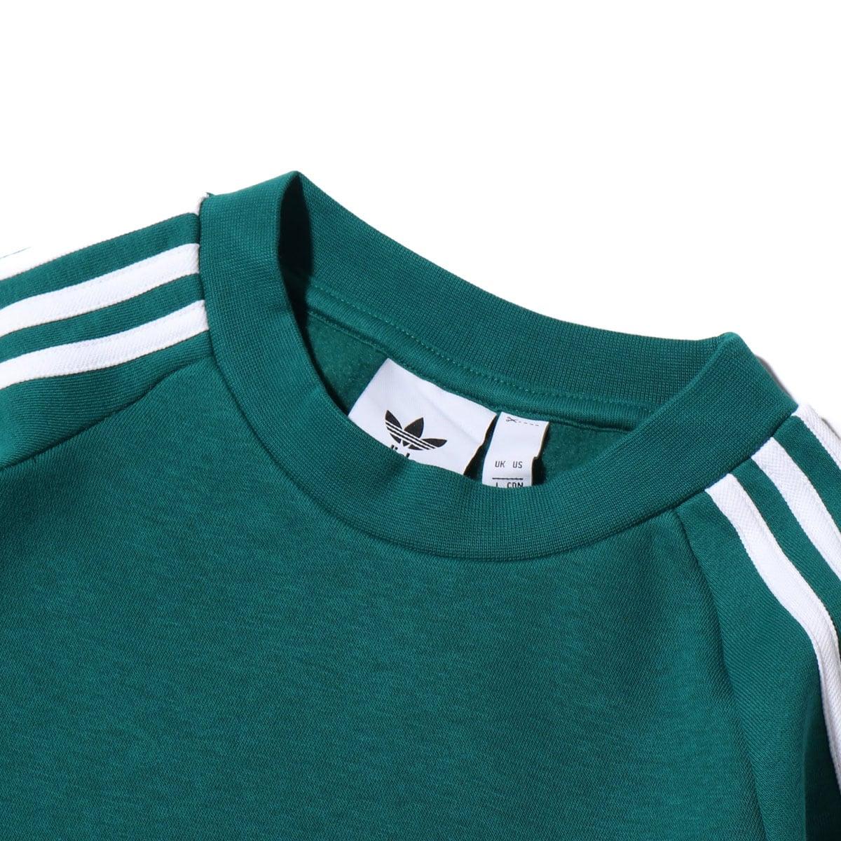 """""""adidas 3 STRIPES CREW NOBLE GREEN 19FW-I""""_photo_3"""