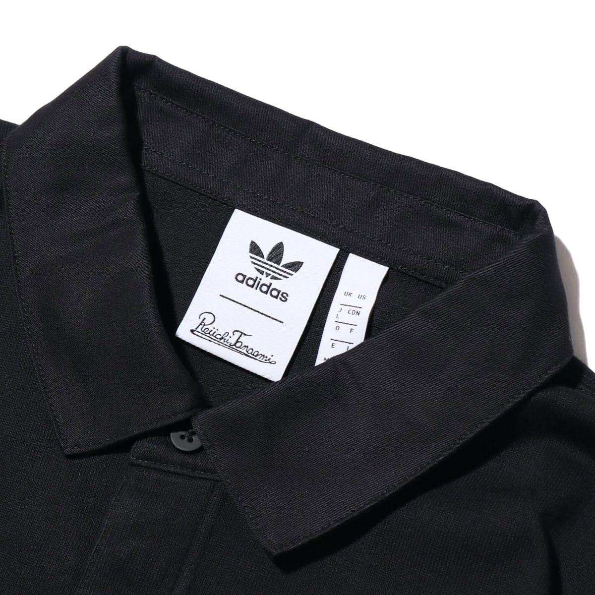 """adidas GALLLERY RUGBY SHIRT BLACK 19FW-S""_photo_3"