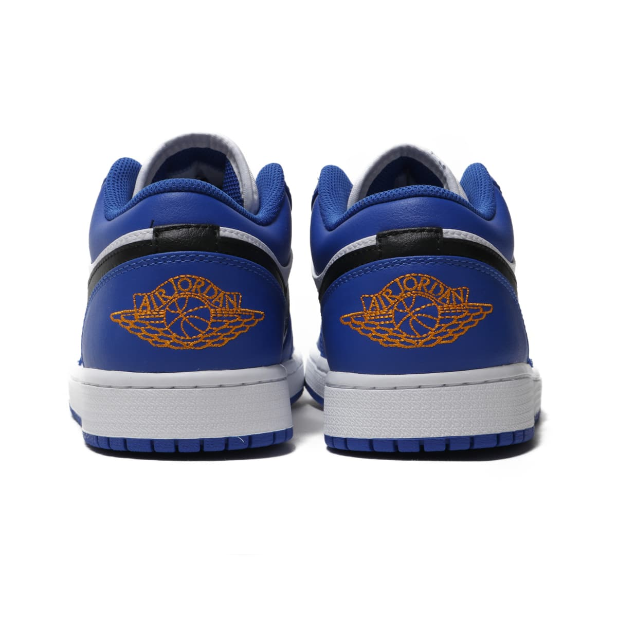 91d8c63b0d68cb NIKE AIR JORDAN 1 LOW HYPER ROYAL ORANGE PEEL-WHITE-BLACK 18FA-I
